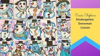 Kindergarten Snowman Lesson