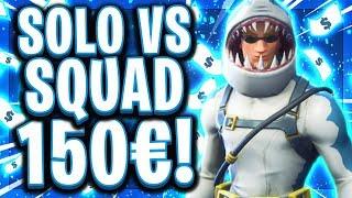 🥇💶SOLO vs SQUAD FINALE! | 150$ Preisgeld für PS4 vs PC!