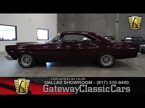 1967 Ford Fairlane #446-DFW Gateway Classic Cars of Dallas