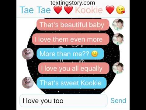 Your milk? Taekook POV (part 6) Texting story