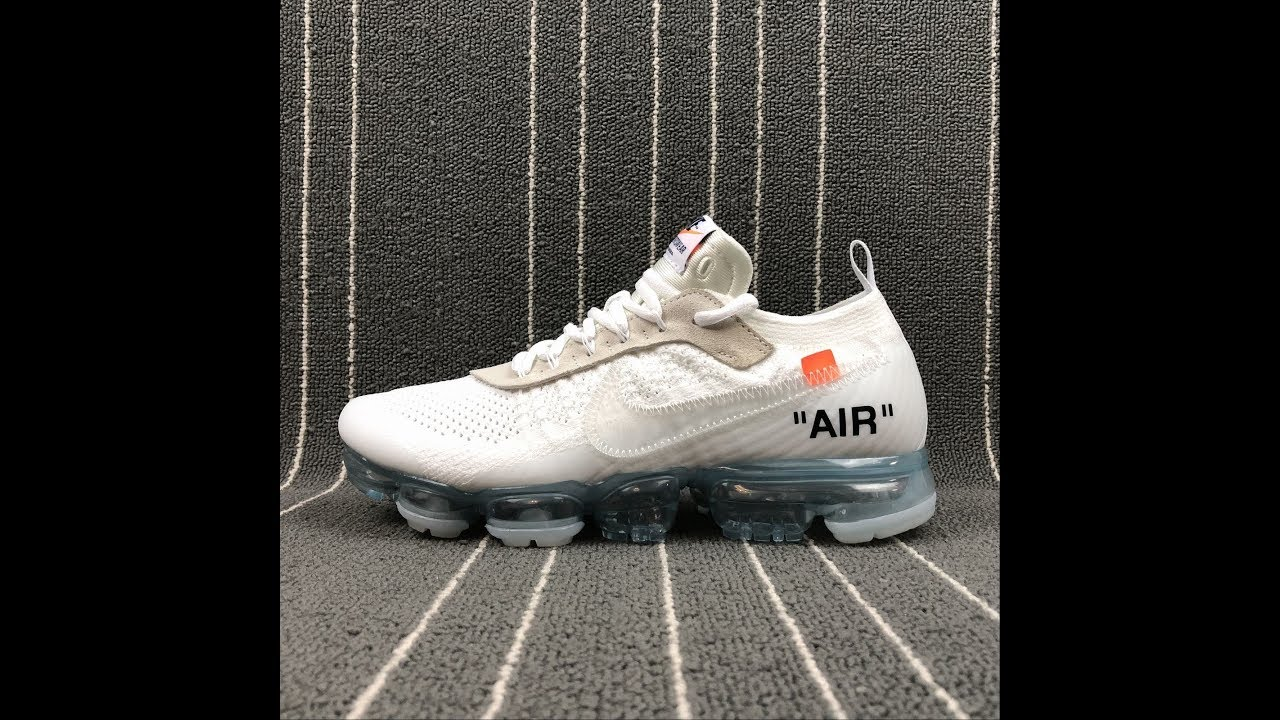 2018 THE 10 Nike Air VaporMax FK OFF WHITE AA3831-100 Sneaker Shoes FROM  Robert 78b061c8c