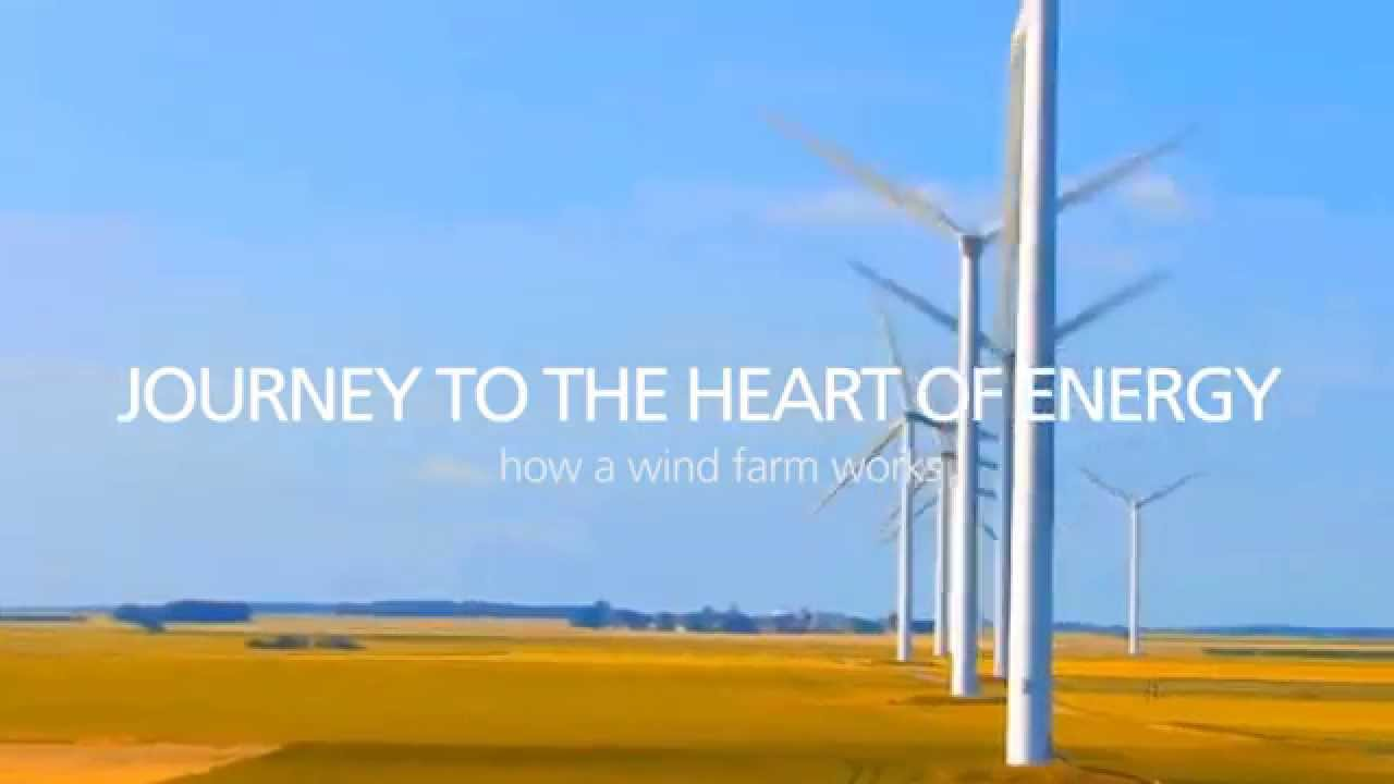 How Wind Energy Works journey to the heart of energy - how a wind farm works - youtube