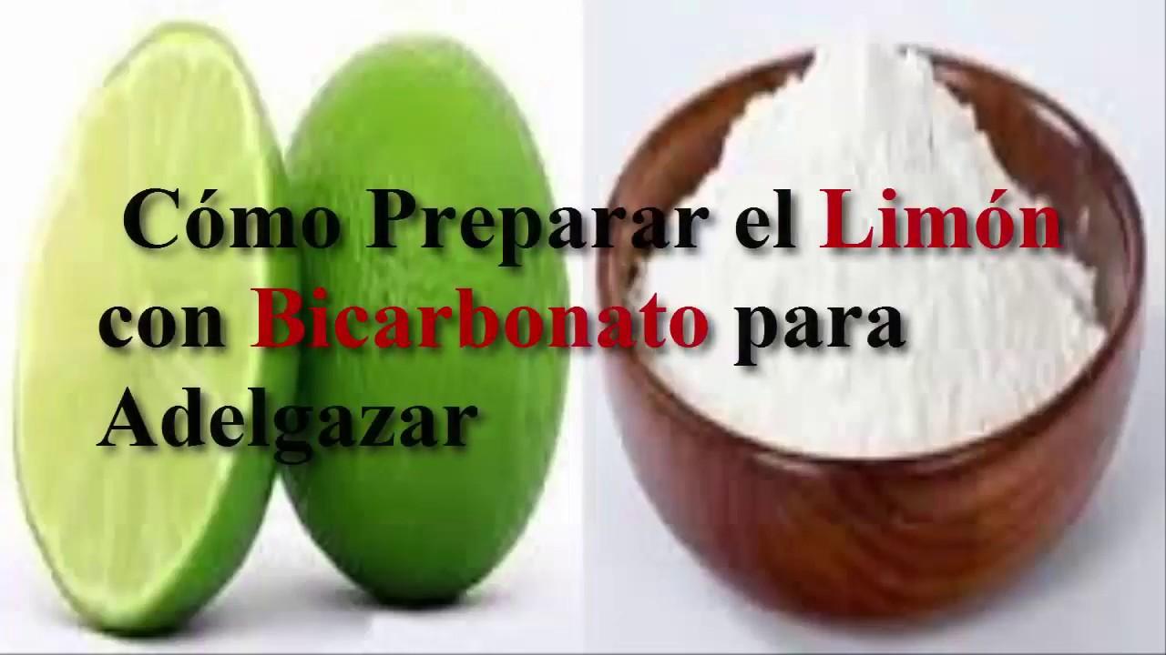 Que beneficios tiene el bicarbonato con limon para adelgazar