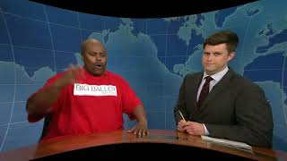 3D Weekend Update: LaVar Ball on Big Baller Brand - SNL