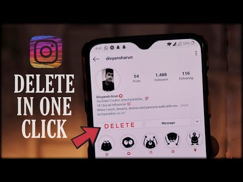 How to Delete Instagram Account Permanently in a Minute ? 2019