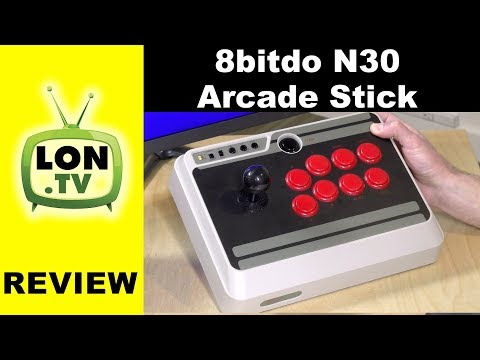 8Bitdo N30 Arcade Stick Review for Nintendo Switch, PC, Mac & Android