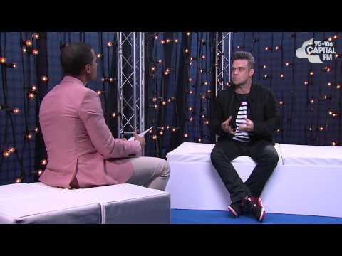 Marvin Humes interview with Robbie Williams - Capital FM Summertime Ball 2013
