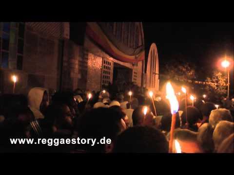 Äthiopien - Axum - Hidar Zion Prozession - The Night Before - 29.11.2013