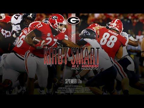 UGA Football: Ep. 3: Kirby Smart All Access vs Samford: 2017