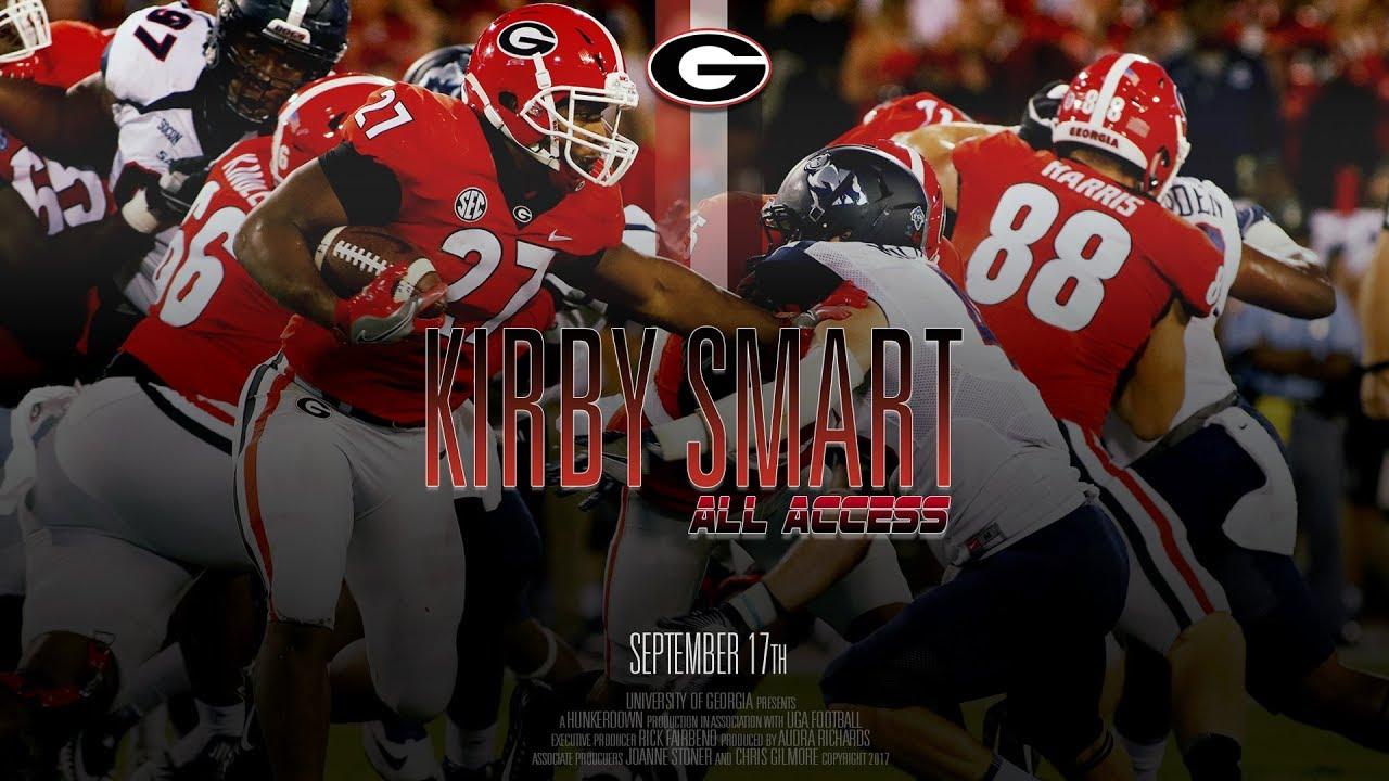 Uga Football Ep 3 Kirby Smart All Access Vs Samford 2017 Youtube