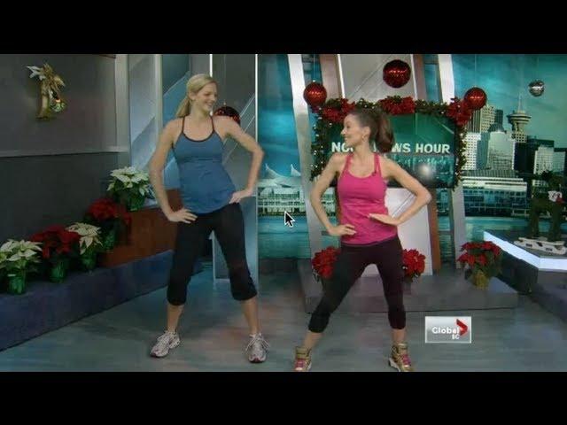 Menina Fortunato's TV appearance on GLOBAL NEWS promoting PRENATAL DANCE
