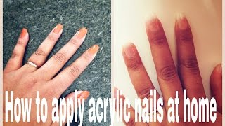 How To Apply Acrylics at Home Thumbnail