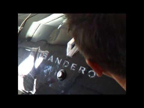 Ремонт крышки багажника Рено Сандера