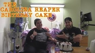 L.a. Beast Vs Carolina Reaper Birthday Cake (with Special Guest Michelle!!!)
