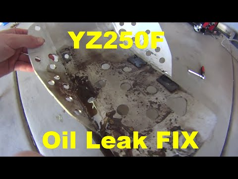 Craigslist used bikes -  horror stories - Oil Leak FIX YZ250F