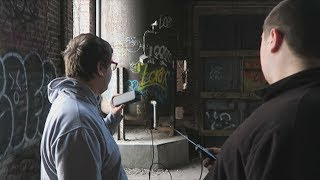 INSANE PARANORMAL INVESTIGATION OF AN ABANDONED FACTORY **SHADOWS SEEN**!!!