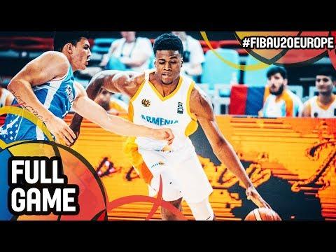 Armenia v Azerbaijan - Full Game - Cl 17-20 - FIBA U20 European Championship 2017 - DIV B