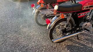 Yamaha Fs1 K1-1972/5 gear VS Fs1 DX-1977/4 gear