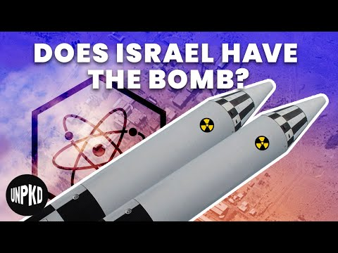 Everything We Don't Know About Israel's Nuclear Program