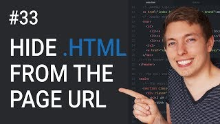 33: How to Remove the Page File Extension From the URL | Learn HTML & CSS | HTML Tutorial | mmtuts