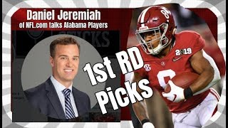 NFL.com's Daniel Jeremiah talks Josh Jacobs, Mack Wilson, and Tua Tagovailoa