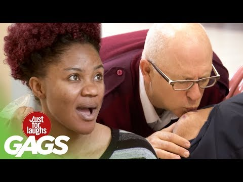 Kissing Strangers Everywhere - Just For Laughs Gags
