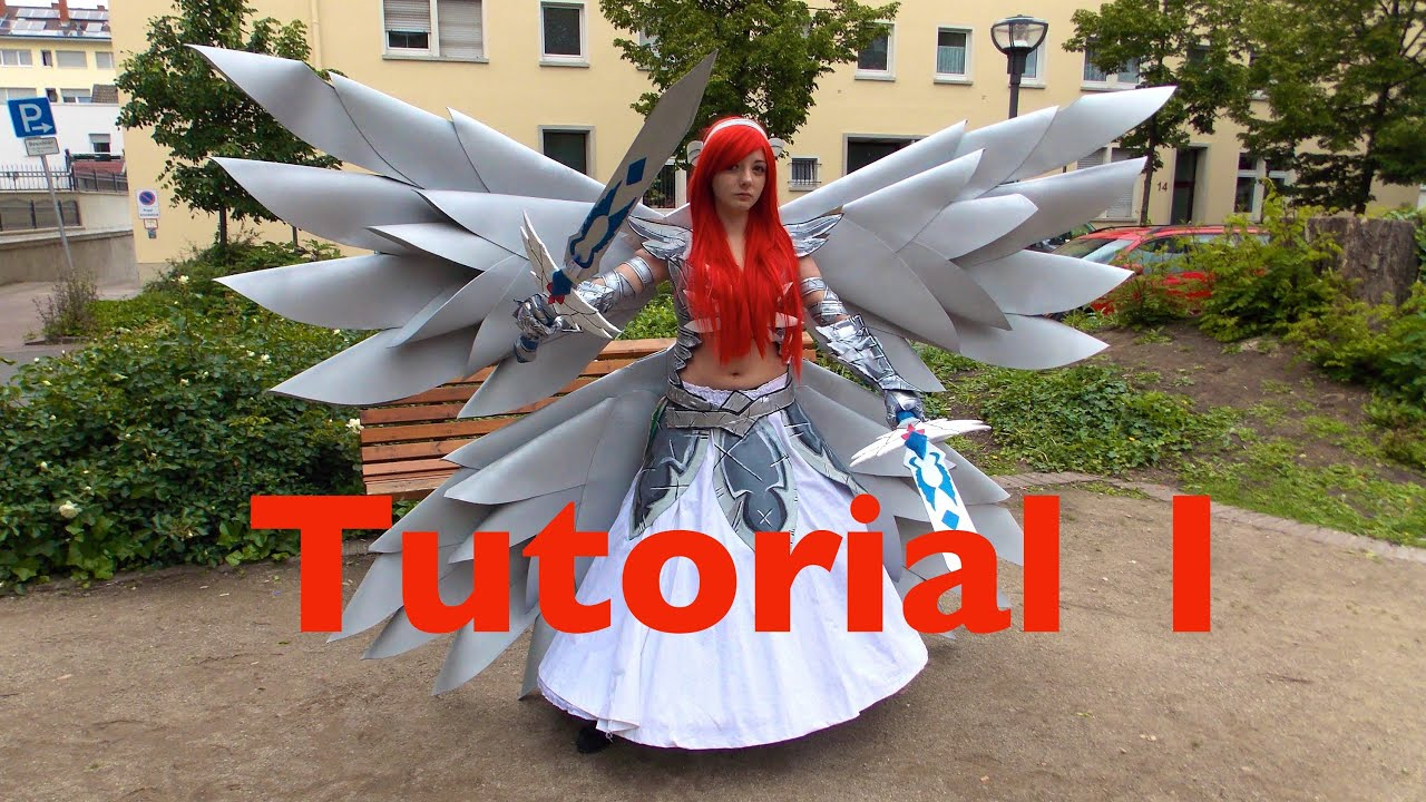 Cosplay Tutorial Erza Scarlet Heavens Wheel Armor 4 1 Ichi