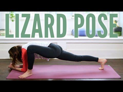 Lizard Pose Foundations of Yoga
