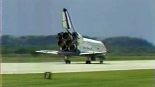 NBC News Coverage of the STS-41-G Landing