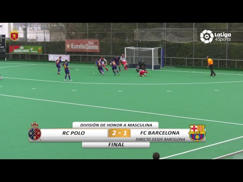 📺 División de Honor de Hockey: RC Polo vs FC Barcelona