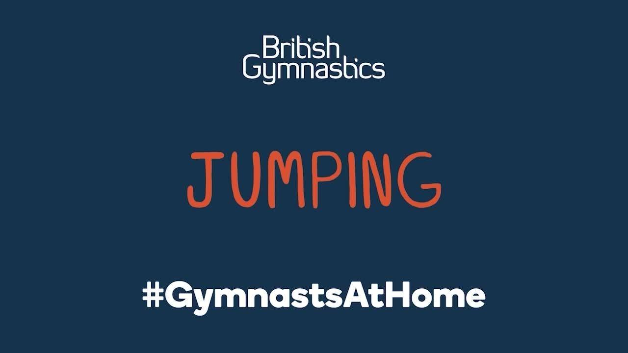 #GymnastsAtHome - Jumping