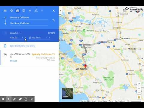 Google Maps San Jose California on