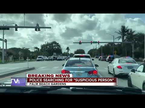 Private Campus In Palm Beach Gardens On Lockdown Due To Suspicious Person