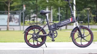 Discount Gearbest : Samebike 20LVXD30 Smart Folding Electric Moped Bike E-bike Review Price
