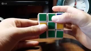 Как собрать кубик Рубика 3х3(2 часть - два слоя).