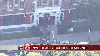 Deadly school stabbing in NYC