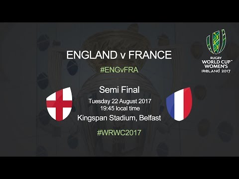 Women's Rugby World Cup - Semi Final - England v France