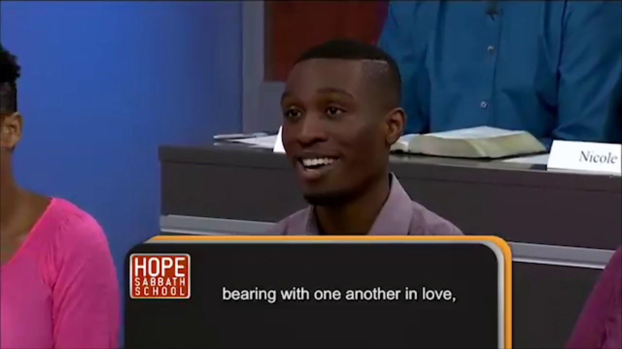 Hope Sabbath School Lesson 8 Unity in faith