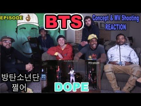 [EPISODE] BTS ( 방탄소년단) DOPE MV Shooting '쩔어' | REACTION