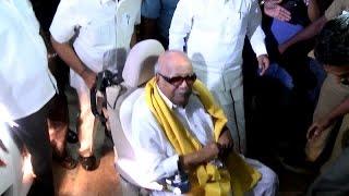 Director K. Balachander died - Former  Chief Minister Karunanidhi  Pay Homage to K. Balachander
