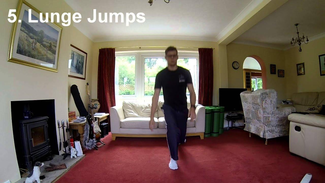 Living Room Workout 8 - 20 minute Fat Burner - YouTube