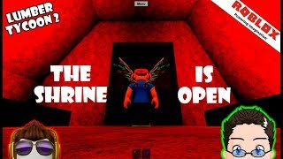 Roblox - Lumber Tycoon 2 - The Shrine Is Open!
