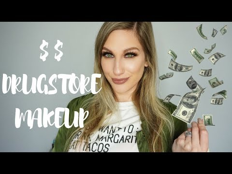 DRUGSTORE MAKEUP COSTS HOW MUCH?? 💸 EXPENSIVE MAKEUP FROM AFFORDABLE BRANDS