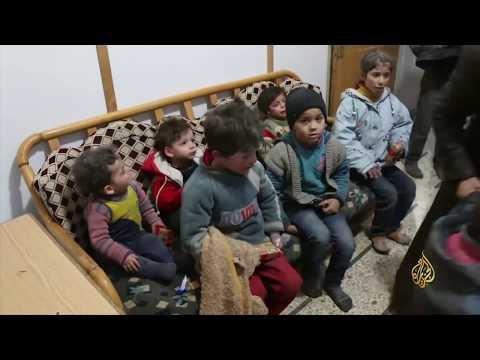 مقتل 57 مدنيا بقصف النظام وروسيا للغوطة الشرقية  - نشر قبل 3 ساعة