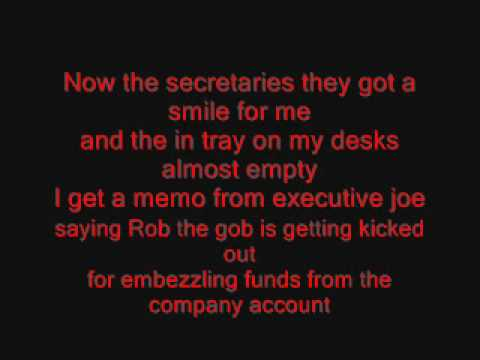 Just Jack - The Day I Died Lyrics On Screen