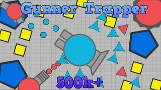 Gunner Trapper VS | Easy 500,000+ Points | Diep.io