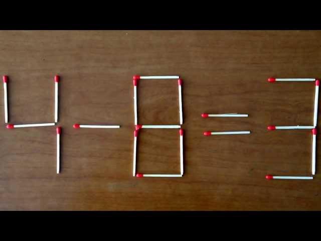 早大セミナー学習教材研究所(マッチ棒クイズその29) Matchstick puzzle