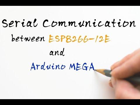 Serial Communication Between ESP8266 12E(NODE MCU) And Arduino