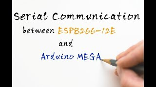 Serial communication between ESP8266 12E(NODE MCU) and Arduino