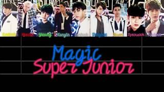 Super Junior Magic Lyrics